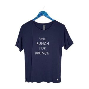 Sweaty Betty Will Punch For Brunch Graphic Tee